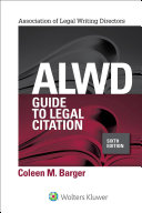 ALWD Guide to Legal Citation