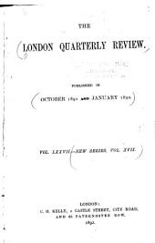 The London Quarterly Review: Volume 77