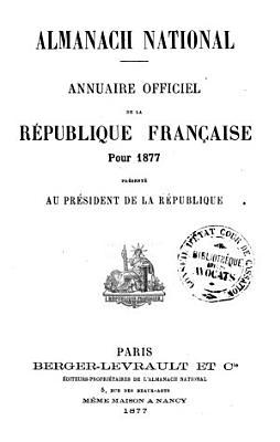 Almanach national PDF