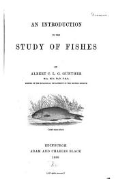 An Introduction to the Study of Fishes