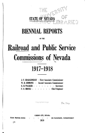 Report of the Railroad and Public Service Commissions