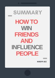 Summary How To Win Friends And Influence People Book PDF
