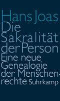 Die Sakralit  t der Person PDF
