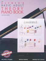 Alfred s Basic Adult Piano Course  Theory Book 1 PDF