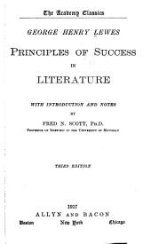 The Principles of Success in Literature