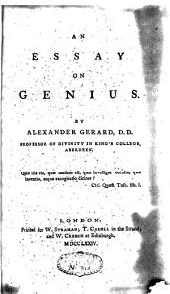 An Essay on Genius