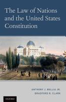 The Law of Nations and the United States Constitution PDF