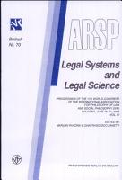 Legal Systems and Legal Science PDF