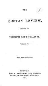 The Boston Review: Volume 4