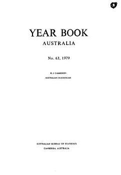 Year Book Australia No  63  1979 PDF