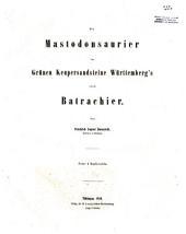 Die mastodonsaurier im grünen keupersandsteine Württemberg's sind batrachier