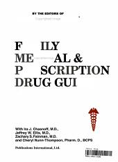 Family Medical & Prescription Drug Guide
