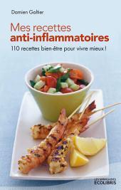 Mes recettes anti-inflammatoires