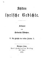 Schillers lyrische gedichte: 1-3 bd