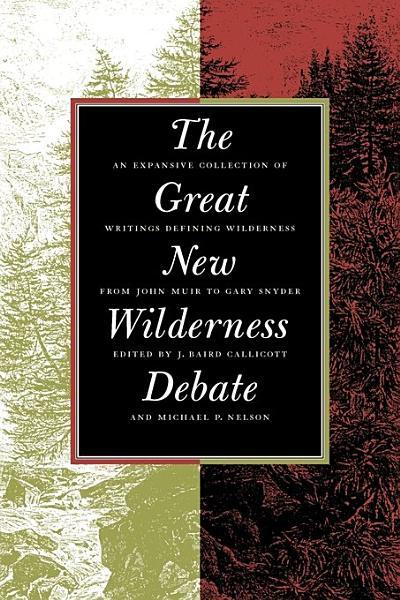 Download The Great New Wilderness Debate Book