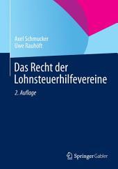 Das Recht der Lohnsteuerhilfevereine: Ausgabe 2