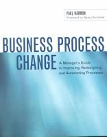 Business Process Change PDF