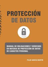 Manual de obligaciones y derechos en materia de protección de datos de carácter personal