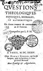 Les Questions theologiques, physiques, morales, et mathématiques, où chacun trouuera du contentement, ou de l'exercice Composées par L.: Page1000
