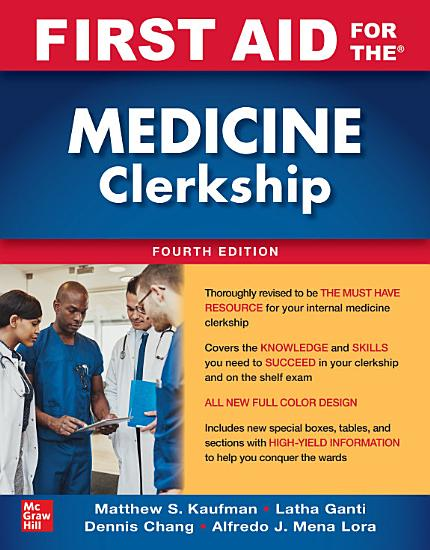 First Aid for the Medicine Clerkship  Fourth Edition PDF
