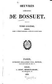 Oeuvres complètes: Volume 6