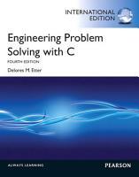 Engineering Problem Solving with C  International Edition PDF