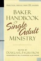 Baker Handbook of Single Adult Ministry PDF
