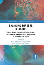 Changing Borders in Europe PDF