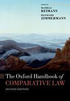 The Oxford Handbook of Comparative Law PDF