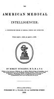 The American Medical Intelligencer PDF