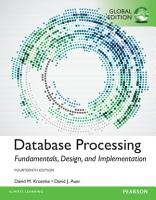 Database Processing  Fundamentals  Design  and Implementation  Global Edition PDF