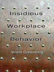 Insidious Workplace Behavior PDF