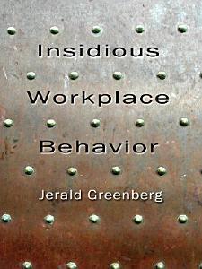 Insidious Workplace Behavior Book