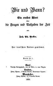 Tagebuch aus Wien: von Latour bis auf Windischgrätz. (September bis November 1848)