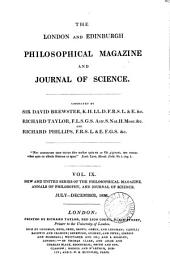 PHILOSOPHICAL MAGAZINE AND JOURNAL OF SCIENCE  (JULY-DECEMBER 1836)