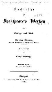 Bd. Perikles, Fürst von Tyrus. Eduard der Dritte. Der lustige Teufel von Edmonton. Lokrine