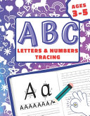 ABC Letters   Numbers Tracing Ages 3 5