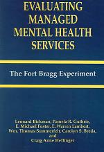 Evaluating Managed Mental Health Services