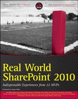 Real World SharePoint 2010 PDF