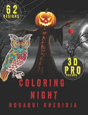 Halloween Coloring Night