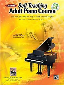 Alfred s Self teaching Adult Piano Course Book