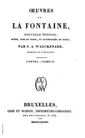 Oeuvres de La Fontaine: Volume4