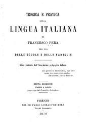 Teorica e pratica della lingua italiana ...
