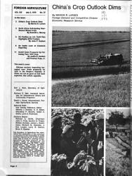 Foreign Agriculture PDF