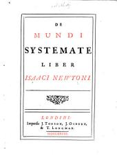 De mundi systemate liber