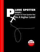 Plane Spotters Diary Planner