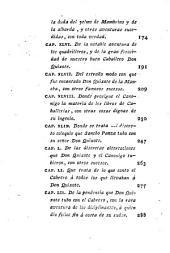 El Ingenioso Hidalgo Don Quixote de La Mancha: Parte primera. 4