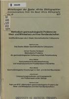 Methodisch geomorphologische Probleme der West  und Mittelsahara und ihrer Randlandschaften PDF