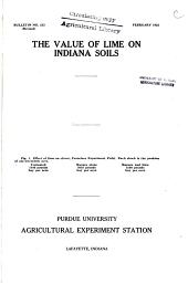 The Value of Lime on Indiana Soils: Volumes 210-224