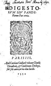 Digesta seu pandectae iuris civilis: Volume 3